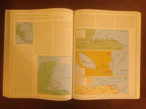 Page on the U.S.-American Revolution in the Historical Atlas of Central America.